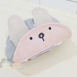 หมวกหูกระต่ายสีเทา Free size