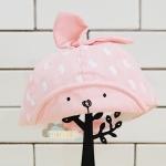 หมวก Bunny หูตั้ง สีชมพู Free size