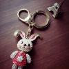 พวงกุญแจ//ห้อยกระเป๋า น้องกระต่ายเพชรๆวิ้งๆ เลยคร่าา ขนาด 4x13 ซม. MADE IN CHINA ทำจากวัสดุคุณภาพดีน้ำหนักเบาคะ