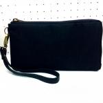 กระเป๋าสตางค์สีดำผ้ากันน้ำ