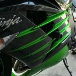 กันล้มด้านข้าง Kawasaki ZX14 2013-2014