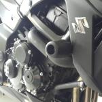 กันล้มข้าง Suzuki GSX-S750 ทรงสปอร์ท