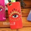 iPhone 5, 5s, SE - เคส KENZO PARIS สีแดง (ดวงตา)