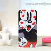 เคสลาย Disney มิกกี้โดนจุ๊บ (TPU) - iPhone 5, 5s