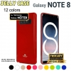 Samsung Note8 - เคส TPU Mercury Jelly Case (GOOSPERY) แท้