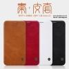 Samsung J7 Plus - เคสฝาพับ หนัง Nillkin QIN Leather Case แท้