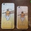 iPhone 6 Plus, 6s Plus - เคสใสลาย ไข่ขี้เกียจ ตัวใหญ่ (กุเดทามะ/Gudetama)