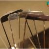 iPhone 6 Plus, 6s Plus (เต็มจอ/ขอบนิ่ม) - กระจกนิรภัย สีเงา 3D P-One 9H 0.26m ราคาถูกที่สุด