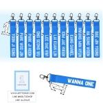 Nametag+พวงกุญแจ BLUE WANNA ONE -ระบุสมาชิก-