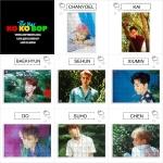 จิ๊กซอ+กรอบรูป EXO THE WAR -KOKOBOP -ระบุสมาชิก*-