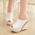 รองเท้าส้นเตารีดไซต์ 34-41