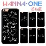 เคสโทรศัพท์ WANNAONE Black Signature -ระบุรุ่น/หมายเลข-
