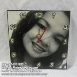 016-อัดขยายรูปและเข้ากรอบลอย 12x12 นิ้ว ใส่นาฬิกา