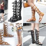 รองเท้า Galdiator สีน้ำตาล/ดำ ไซต์ 35-40