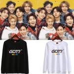 เสื้อแขนยาว GOT7 Eyes On You Logo -ระบุสี/ไซต์-