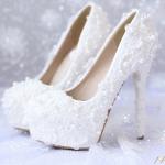 รองเท้าเจ้าสาว ไซต์ 34-39 ส้นสูง 5-14 ซม.