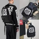 กระเป๋า Off-White Brushed Diagonals Backpack