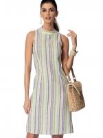 แพทเทิร์นตัดเดรสแขนกุด Vogue 9184 ไซส์ปกติ Size: 6-8-10-12-14 (อก 30.5-36 นิ้ว)
