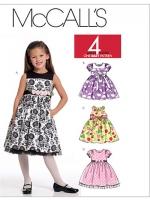 แพทเทิร์นตัดชุดเด็กหญิง Mccalls 5793 Size: 2-3-4-5