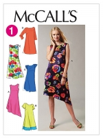 แพทเทิร์นตัดเดรสสตรี McCalls 6465 Size: 8-10-12-14-16