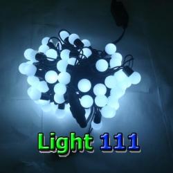 ไฟเชอรี่ LED สีขาว