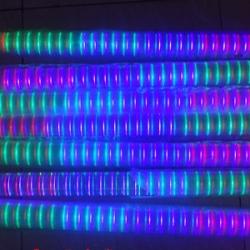 ไฟแท่ง LED 7 สี หลอดใส (ยาว 1 ม.)