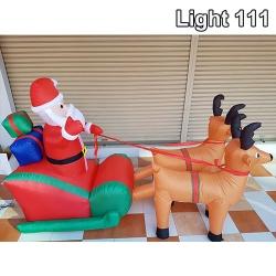 กวาง+ซานตาคอสเป่าลม 2.4m CL-202