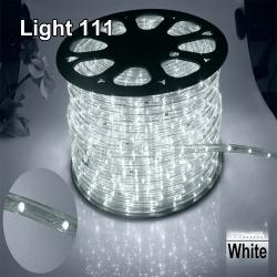 ไฟสายยาง LED (ท่อกลม) 100 m สีขาว