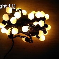ไฟเชอรี่ LED สีวอมไวท์