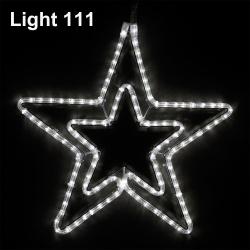 Star LED 54 cm. ( w ) cl-019