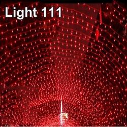 ไฟไม่กระพริบ LED สีแดง