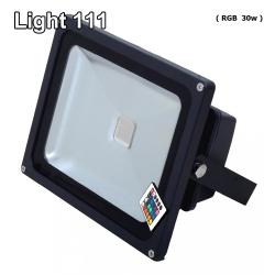 สปอร์ตไลท์ LED 30 w (RGB) เปลี่ยนสีได้