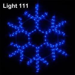 Snowflake LED 50 cm. ( B ) cl-018