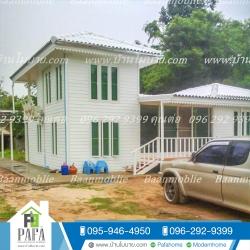 บ้านเเฝดชั้นล่าง 11*6 เมตร พร้อมระเบียง 1.5*4 เมตร ชั้นบน 3*4 เมตร ระเบียง 2*3 เมตร (3 ห้องนอน 2 ห้องน้ำ 1ห้องโถง 1ห้องครัว)