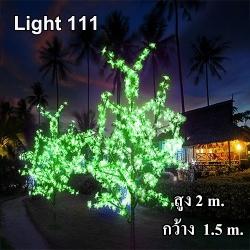 ไฟต้นไม้ (ซากุระ) LED 2 ม.1152 led สีเขียว