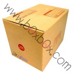 กล่องพัสดุฝาชนไซส์ 2B (19*26*17.5ซม)