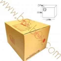 กล่องพัสดุฝาชน size G (31*36*26ซม)