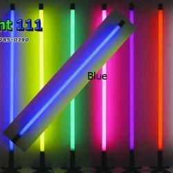 ไฟงานวัด LED สีฟ้า (ไฟนิ่งไม่กระพริบ), หลอด T8 สี