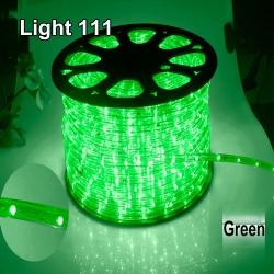 ไฟสายยาง LED (ท่อกลม) 100 m สีเขียว