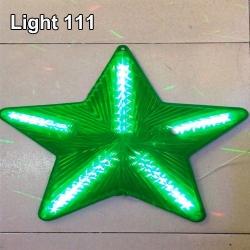 ไฟประดับ ไฟดาวใหญ่ สีเขียว cl-025