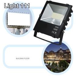 สปอร์ตไลท์ LED (100w) (มอก.) แสงสีวอมไวท์ ( รุ่นใหม่ )
