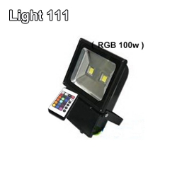 สปอร์ตไลท์ LED 100 w (RGB) เปลี่ยนสีได้