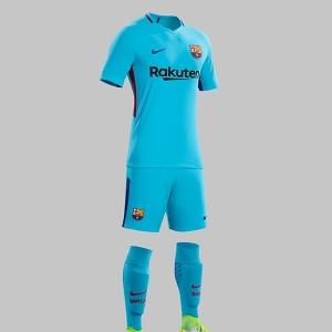 ชุดบอล บาร์เซโลน่า ทีมเหย้า ฤดูกาล 2017 - 2018