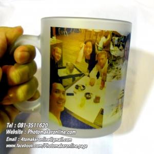 010 สกรีนแก้วใสวินเทจ