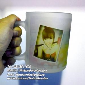 009 สกรีนแก้วใสวินเทจ