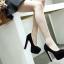 รองเท้าส้นสูงสีแดง/ดำ ไซต์ 35-39 thumbnail 8