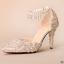 รองเท้าเจ้าสาวสีขาวแต่งคริสตัลงานหรู ไซต์ 34-39 thumbnail 4