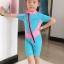 ชุดว่ายน้ำเด็กควบคุมอุณหภูมิ แขนสั้น ขาสั้น thumbnail 5
