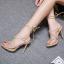 รองเท้าส้นสูงสีครีม/ดำ ไซต์ 35-40 thumbnail 2