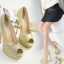รองเท้าส้นสูงสีเงิน/ทอง ไซต์ 35-40 thumbnail 2